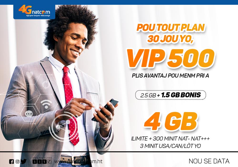 VIP PLAN 500