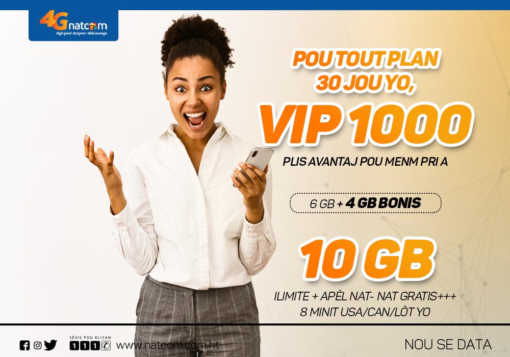 VIP PLAN 1000